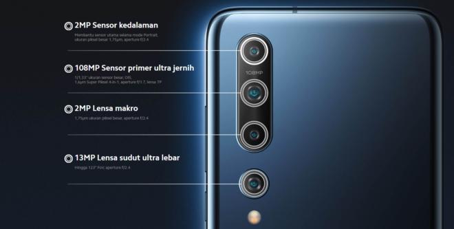 Kamera pada Xiaomi Mi 10