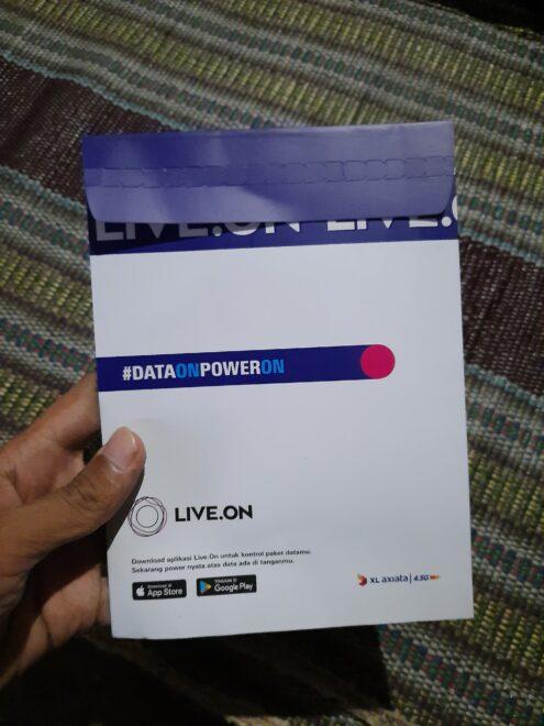 LIVE.ON Provider Digital dari XL - Kartu Datang